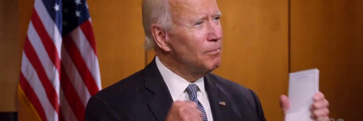 I Democratici scelgono Joe Biden, candidato debole in assenza di alternative