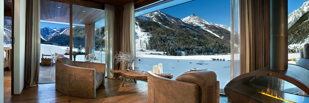 Le più belle camere con vista sulle montagne d'Italia