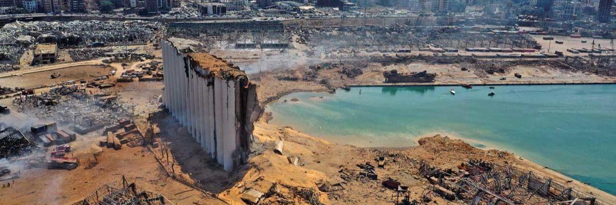 Sulla ricostruzione del Libano pronti a mettere le mani sauditi ed americani