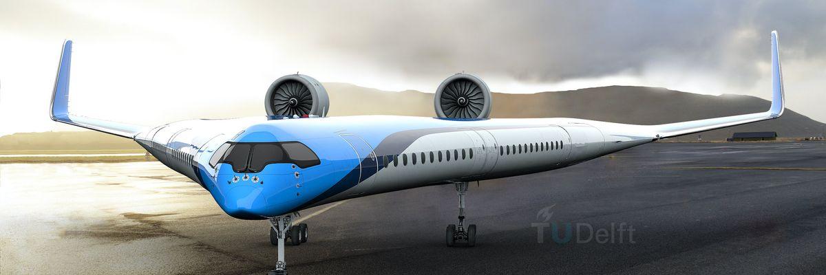 Flying-V è l'aereo del futuro che trasporterà i passeggeri nelle ali
