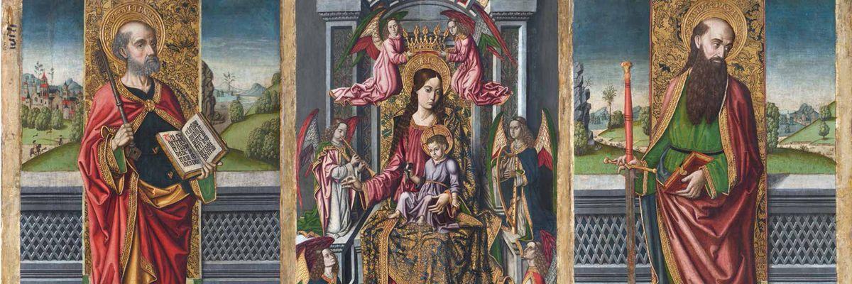 Il restauro del retablo di Tuili ne ha recuperato la brillantezza dei toni