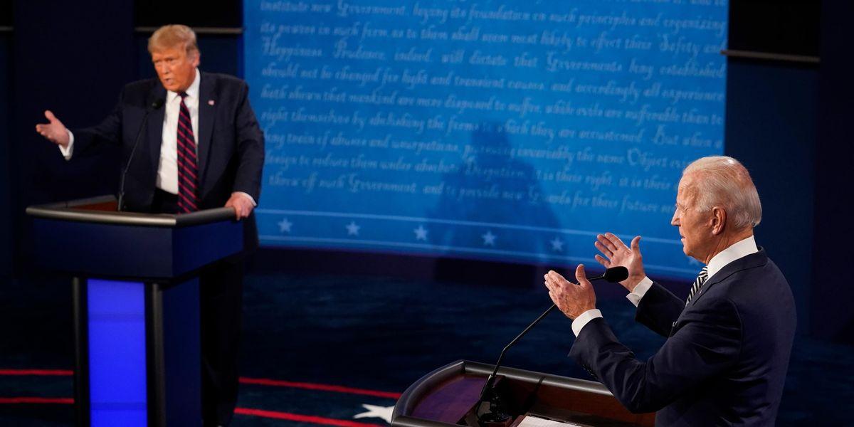 Scazzottata elettorale tra Trump e Biden. Ma il confronto e' senza sorprese