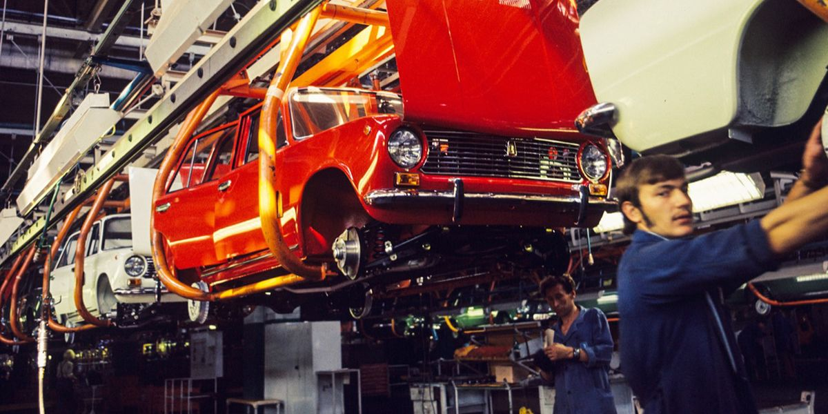 Lada-VAZ 2101: storia e foto della Fiat 124 sovietica