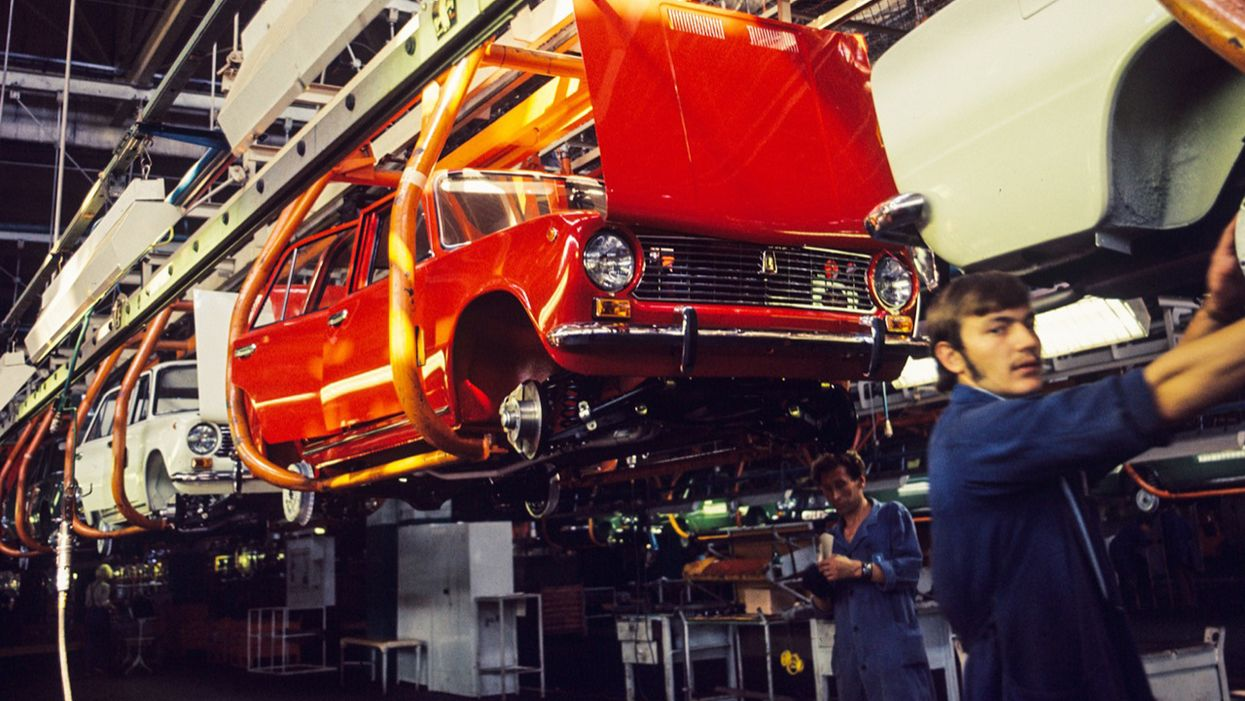 Lada VAZ 2101: storia e foto della Fiat 124 sovietica