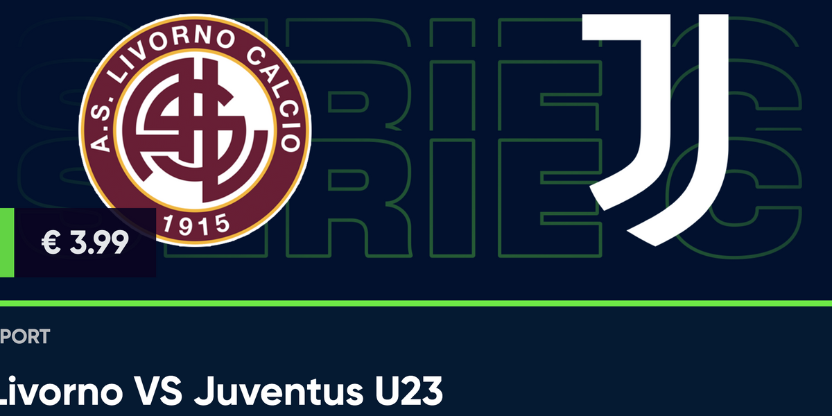 Guarda in diretta Livorno - Juventus U23