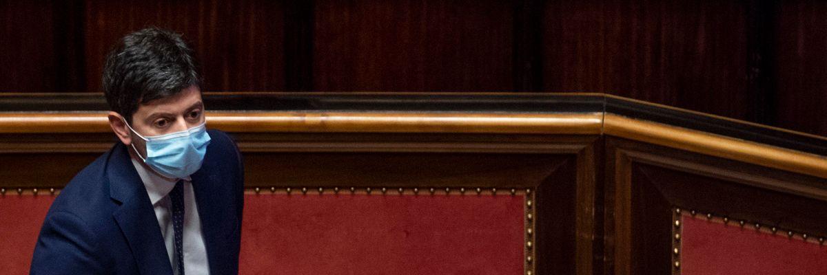 Roberto Speranza ministro salute