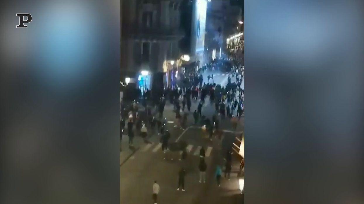 Catania come Napoli |  proteste per le chiusure stabilite dal Dpcm | video