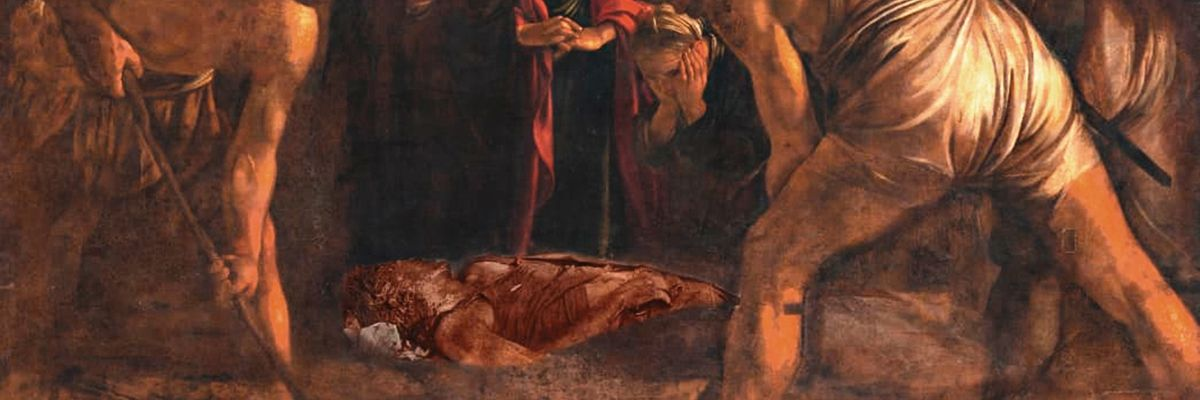 Nella realtà assoluta di Caravaggio, Burri e Pasolini