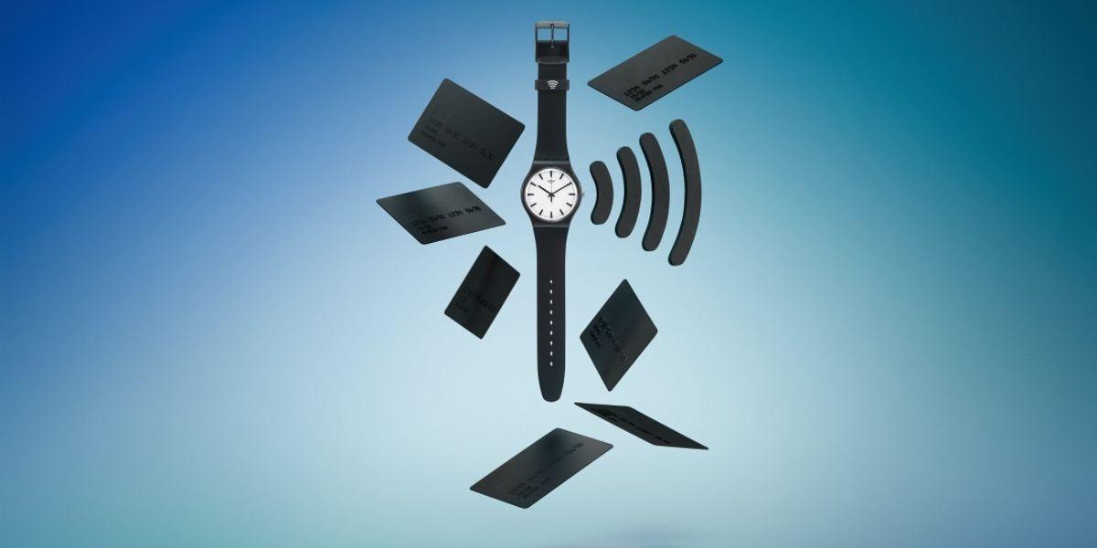Rivoluzione contactless: Swatch lancia il primo orologio con carta di credito integrata