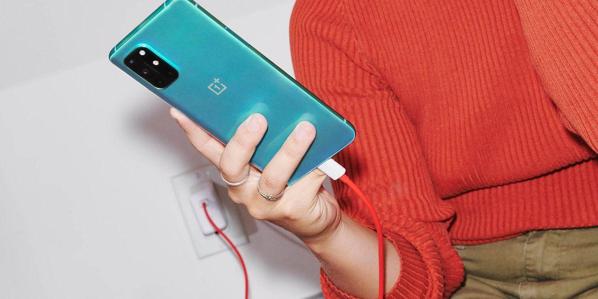 One Plus 8T smartphone