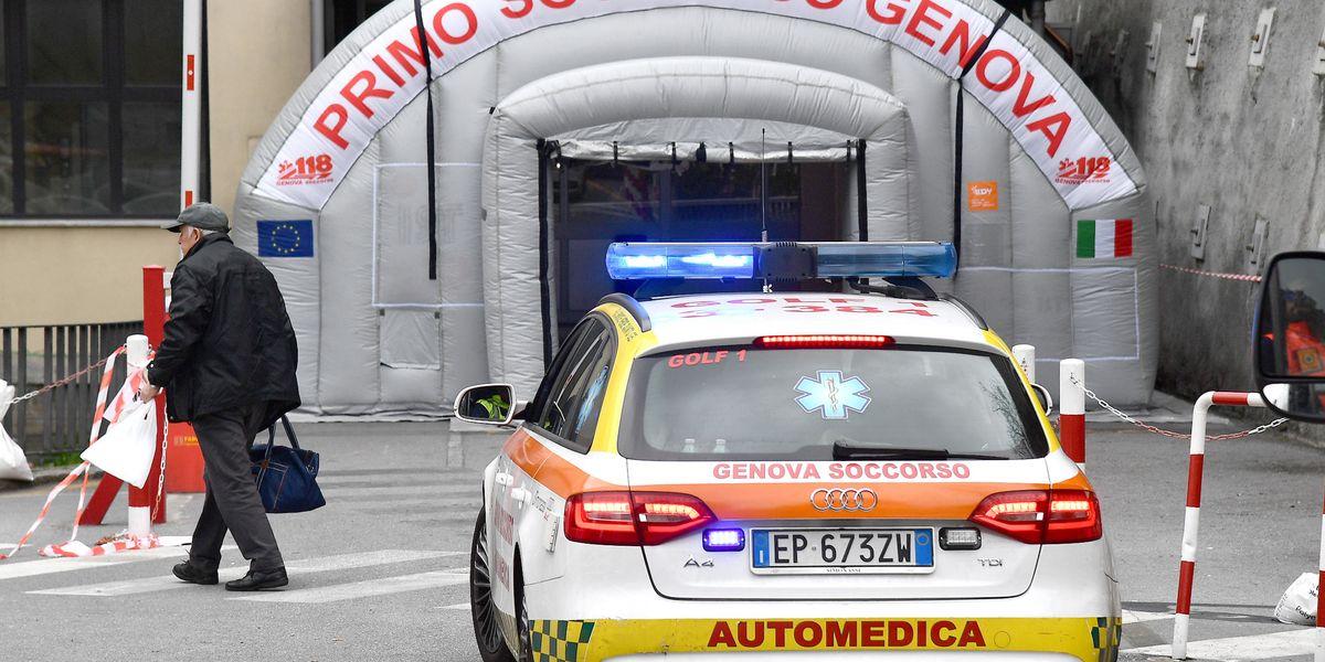 covid ospedale genova