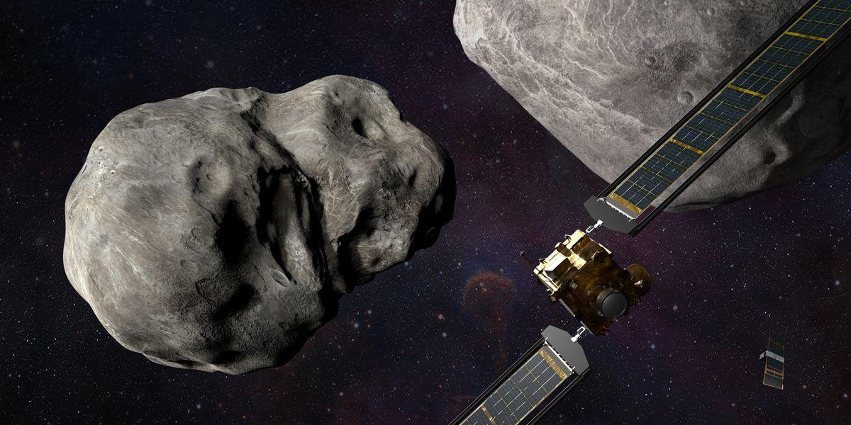 Dart asteroide Didymos Terra