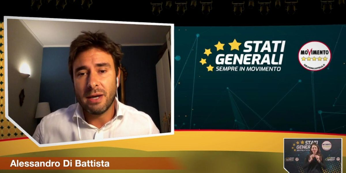 Stati generali M5S Di Battista