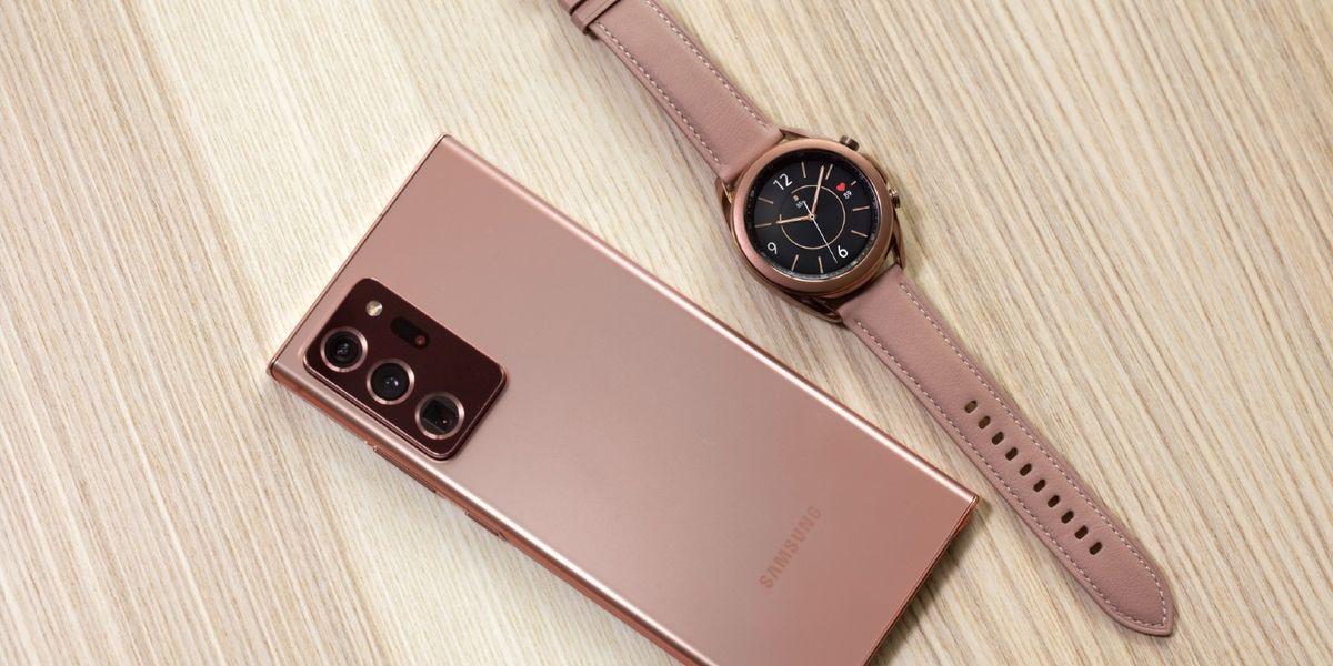 Samsung Galaxy Note 20 Ultra 5G e Watch3, gemelli di produttività