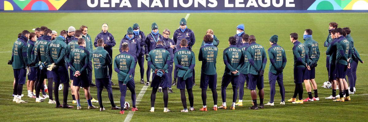 mancini nazionale italia risultati nations league ranking europeo
