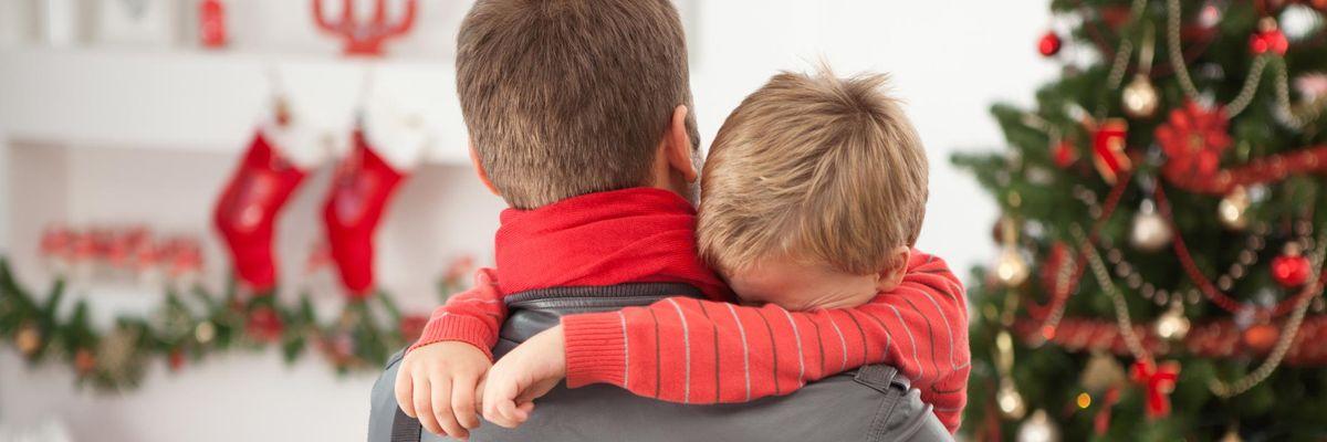 natale genitori separati