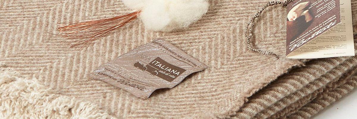 Bottoli crea la prima coperta antibatterica. Con lana e fili di rame