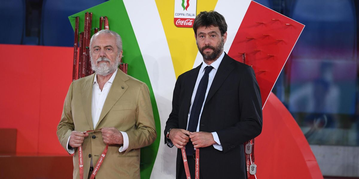 juventus napoli sentenza coni de laurentiis partita penalizzazione tavolino