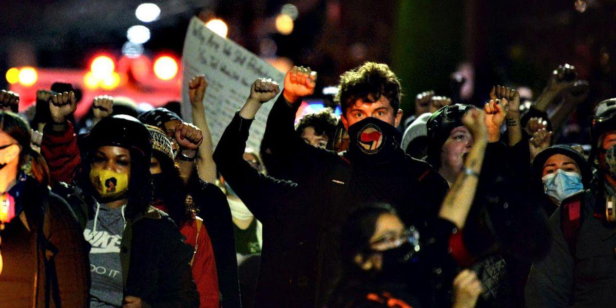 portland antifa black lives scontri