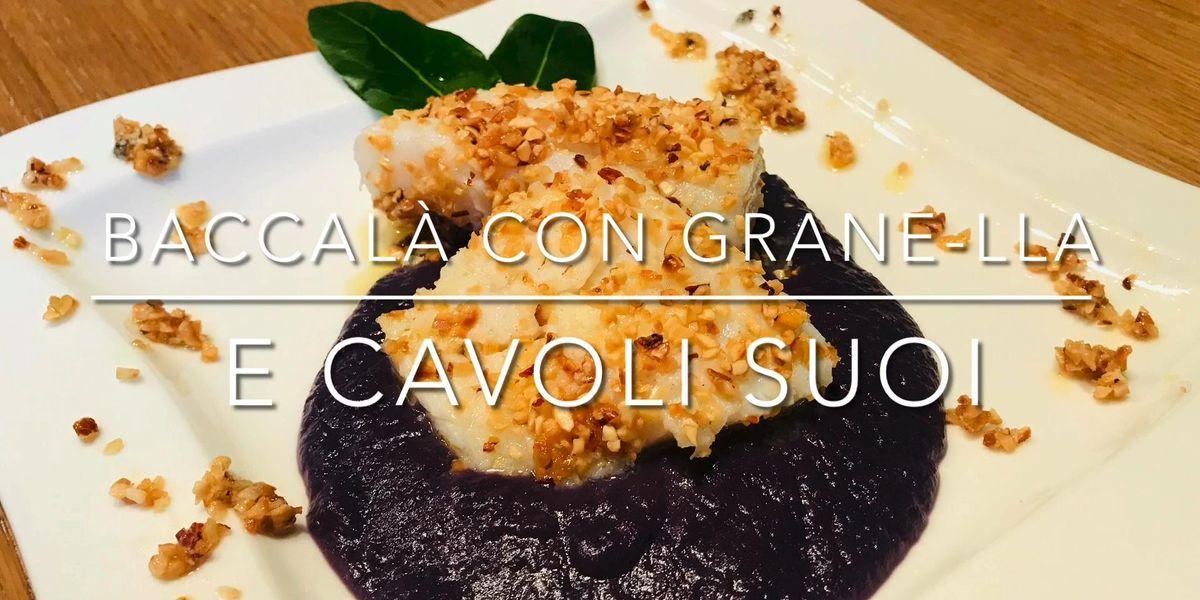 Cuciniamo insieme: baccalà con grane(lla) e cavoli rossi suoi
