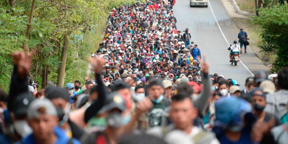 migranti honduras guatemala stati uniti