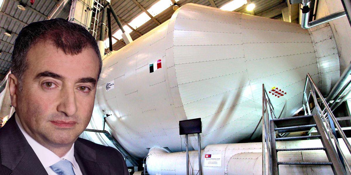 cira capua aerospaziale italia