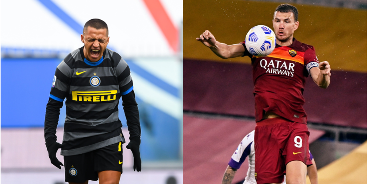 sanchez dzeko inter roma calciomercato scambio