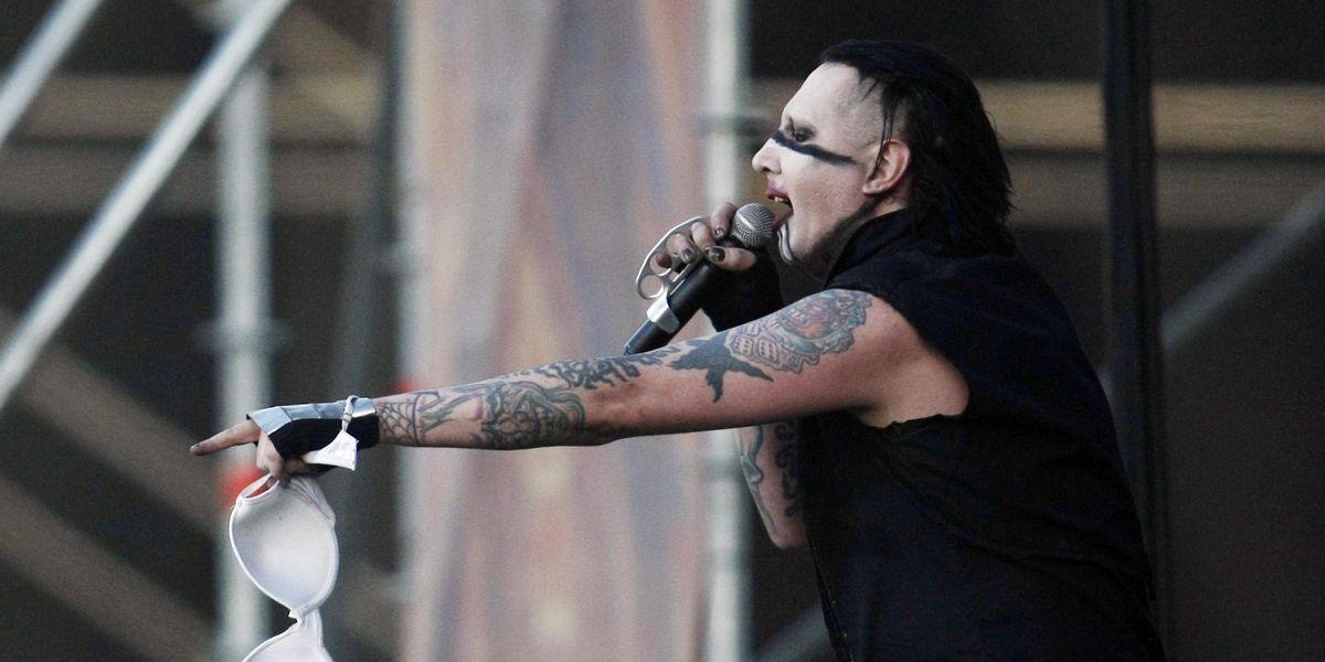 Marilyn Manson abusi