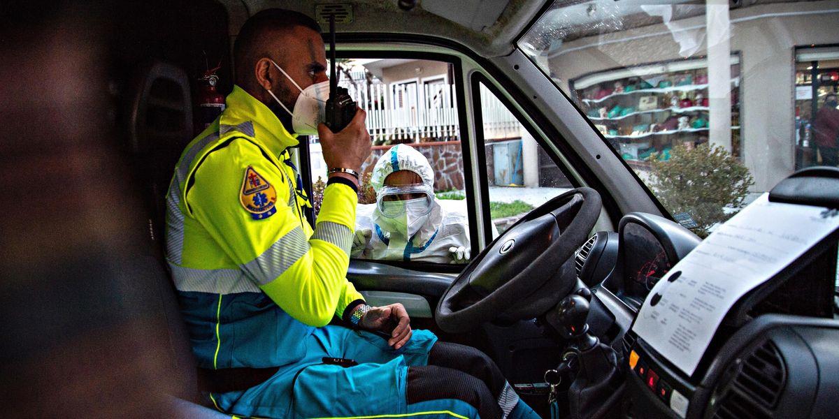 ambulanza pronto soccorso infortuni