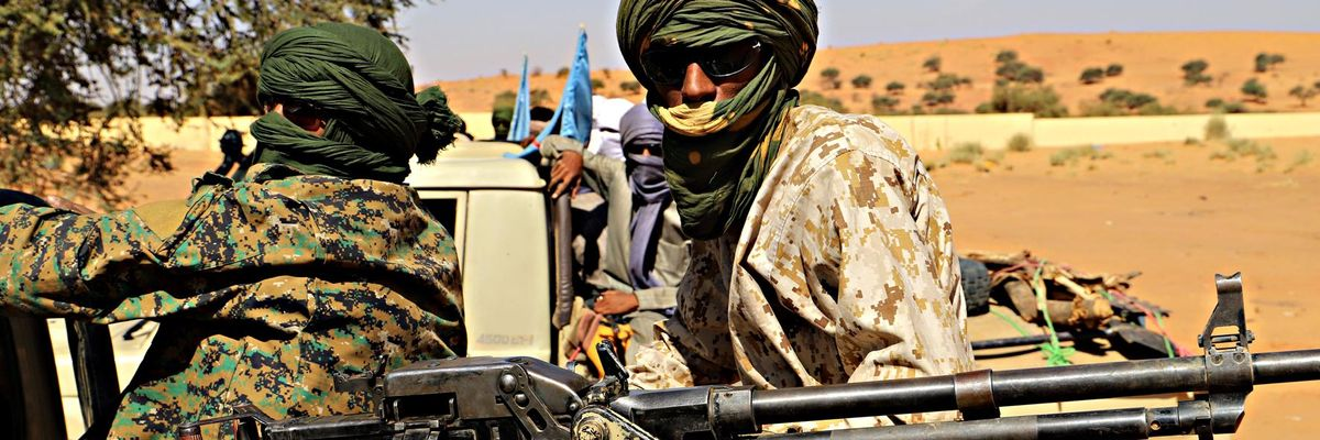 africa miliziano mali