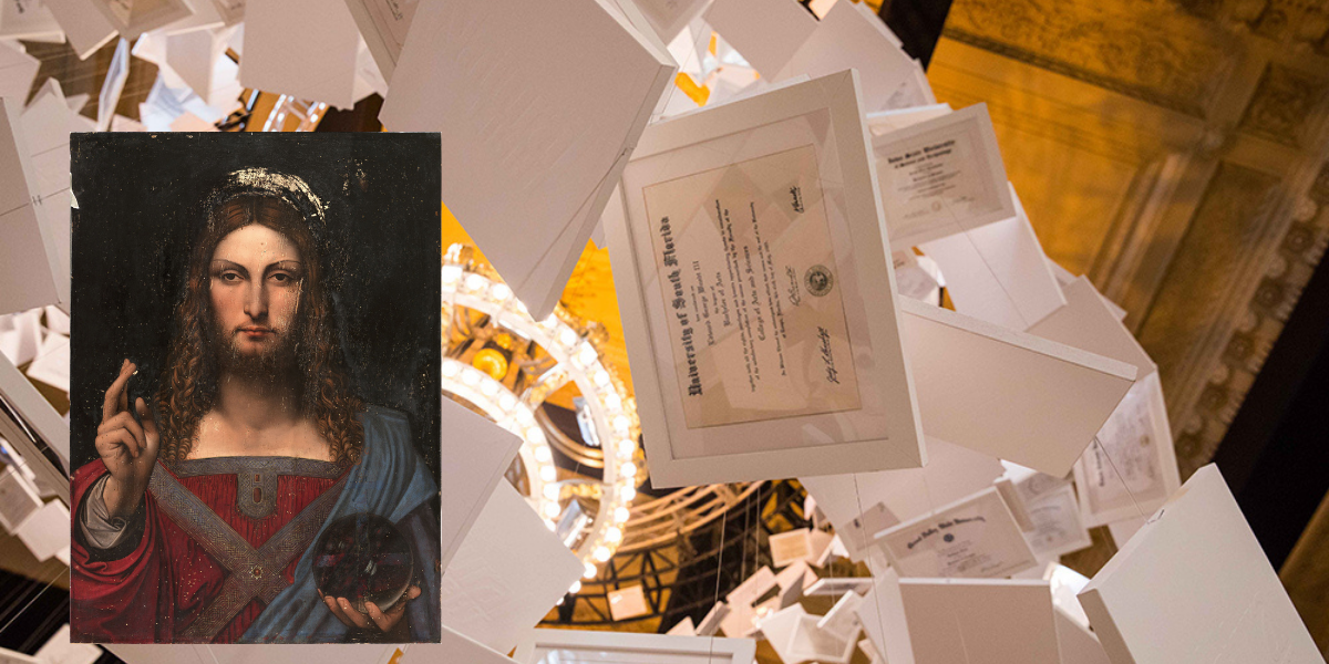 Un birrificio americano ha battuto Da Vinci creando l'opera più costosa al mondo
