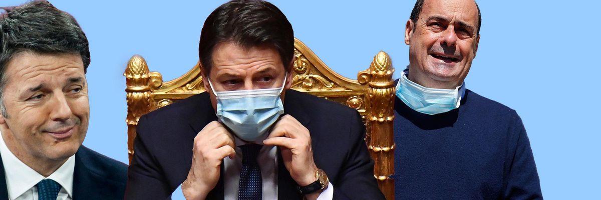 Conte renzi Pd zingaretti
