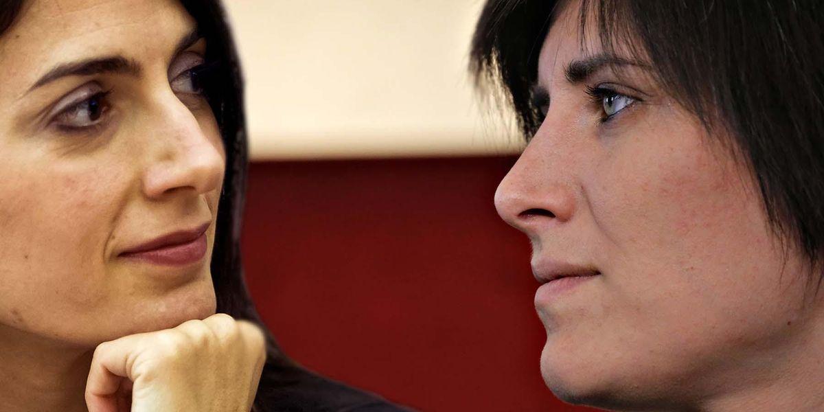 Virginia Raggi e Chiara Appendino