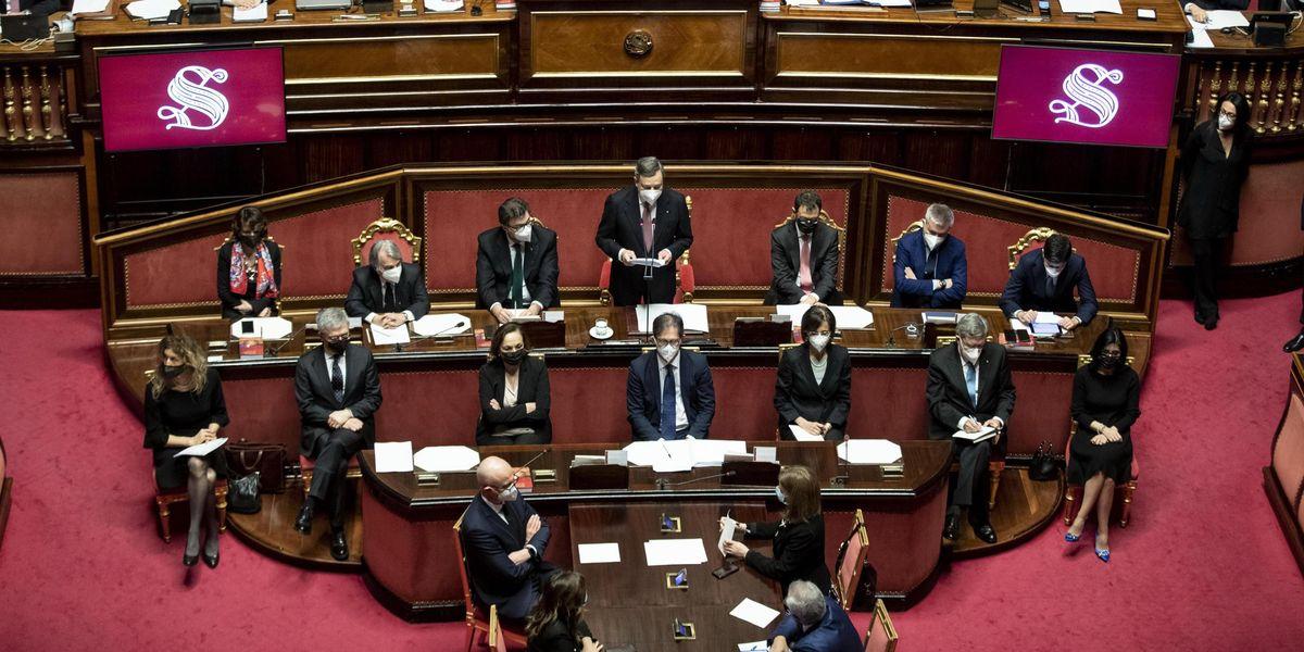governo draghi senato
