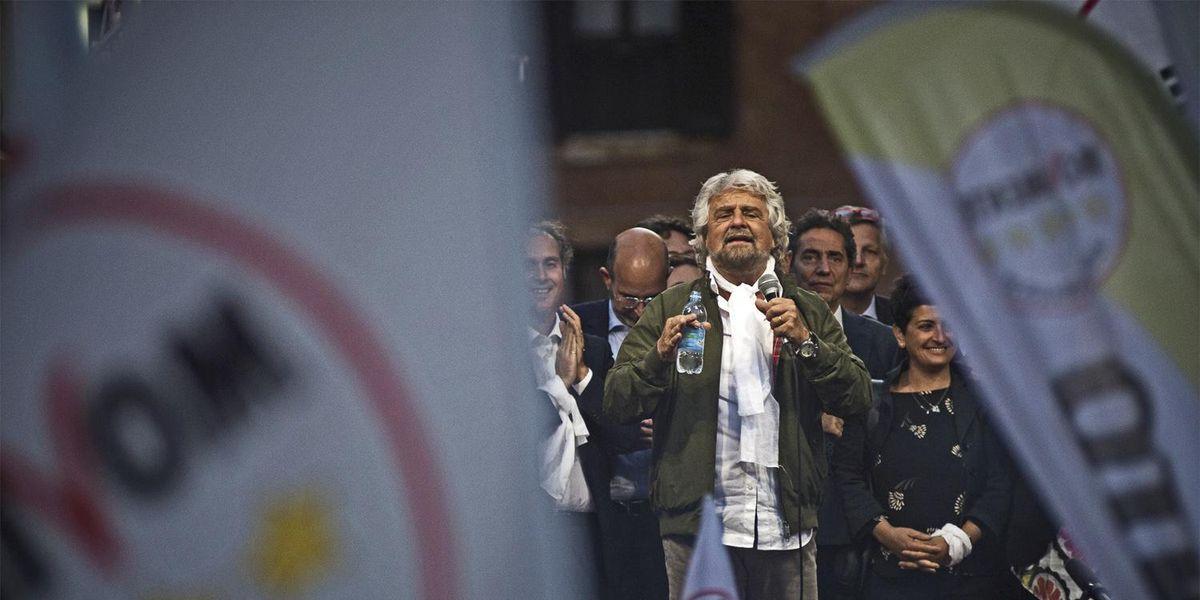 Beppe Grillo Movimento 5Stelle
