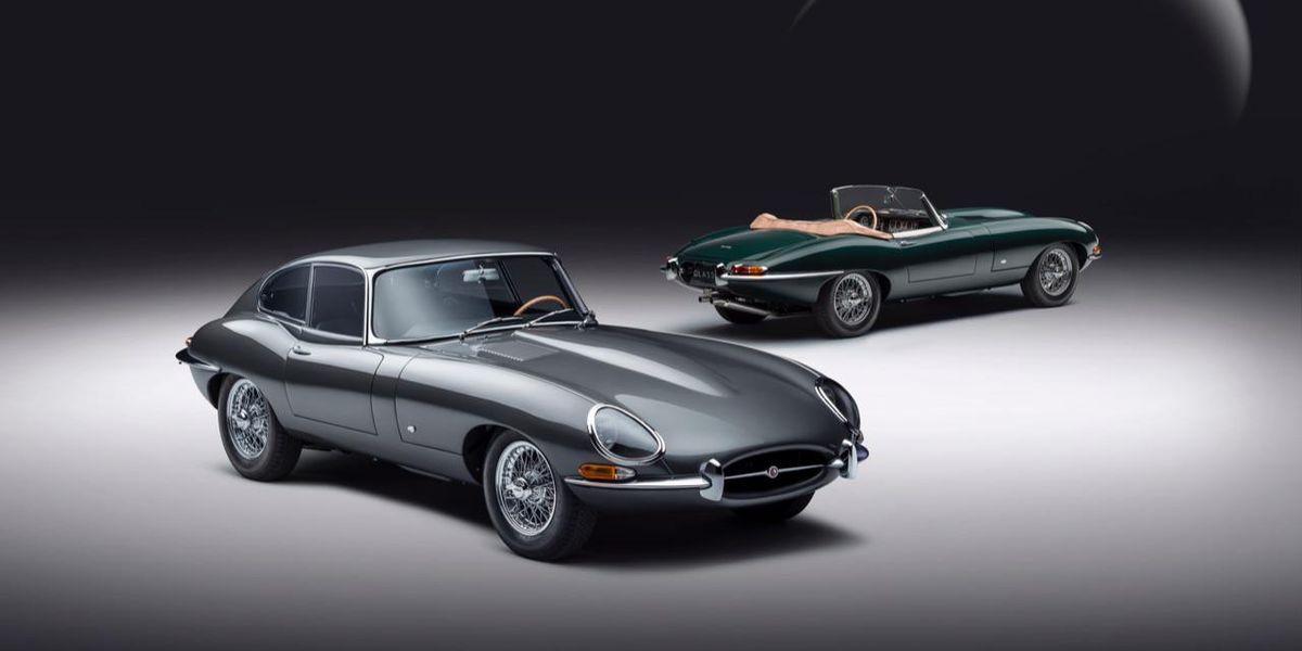 jaguar E 60 anni