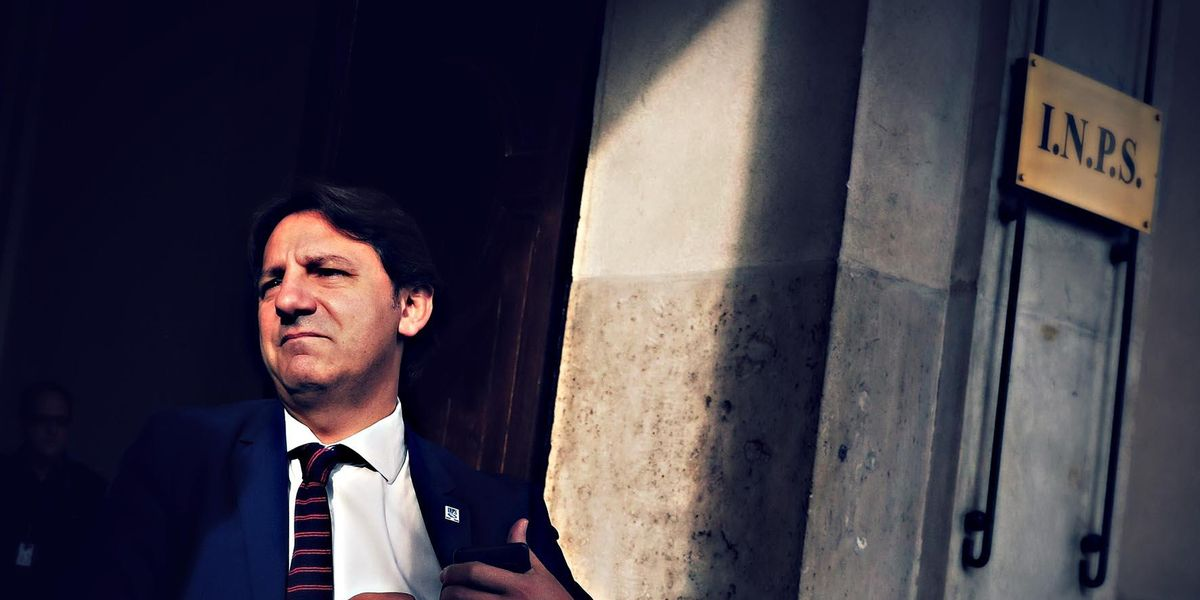 presidente INPS Pasquale Tridico