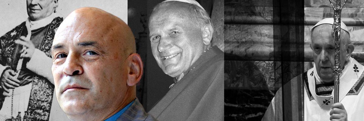 Pio IX, Giovanni Paolo II, Francesco Giordano Bruno Guerri