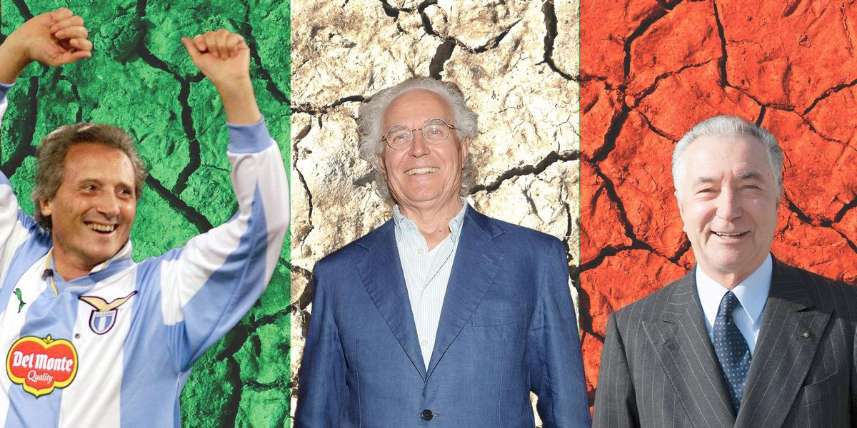 Sergio Cragnotti, Luciano Benetton, Gianni Zonin. 