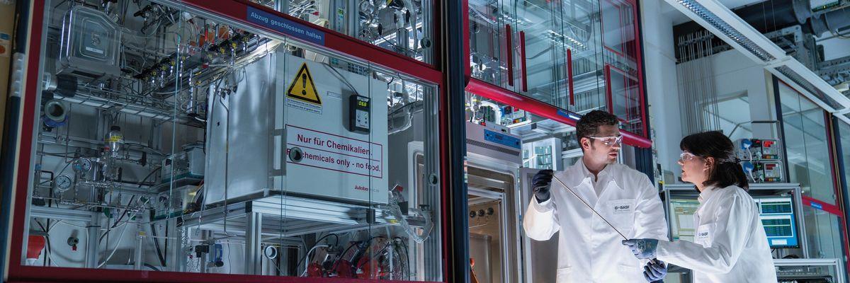basf laboratorio chimica