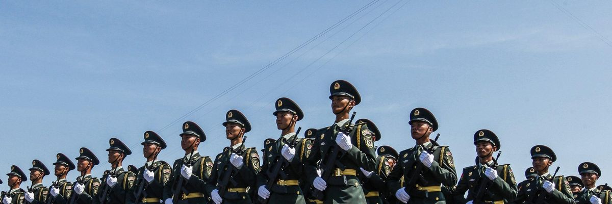 soldati Cina