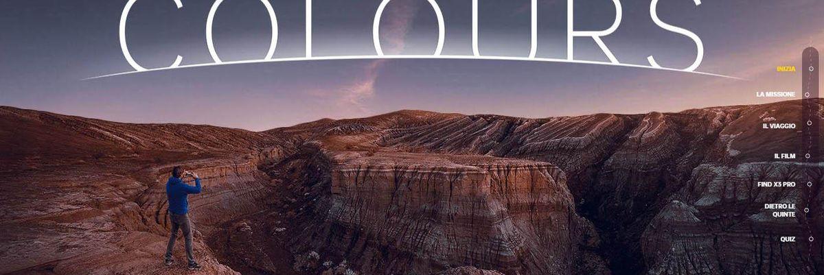 OPPO e National Geographic sbarcano su Marte
