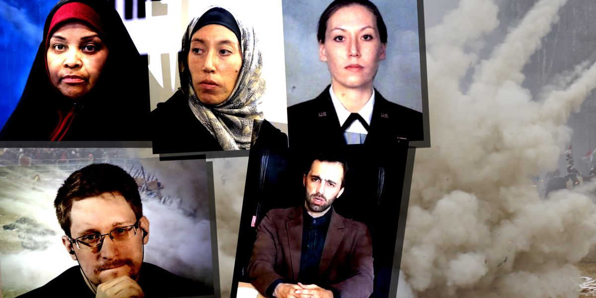 Marzieh Hashemi, Monica Elfriede Witt, Edward Snowden, Mahmoud Mousavi Majd