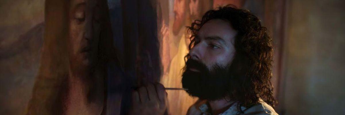 Ecco chi ha dipinto i quadri di Leonardo (quelli della fiction)