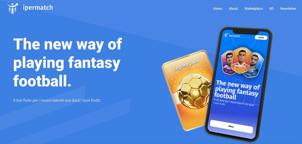 Arriva Ipermatch, il nuovo fantasy game che unisce calcio e fintech