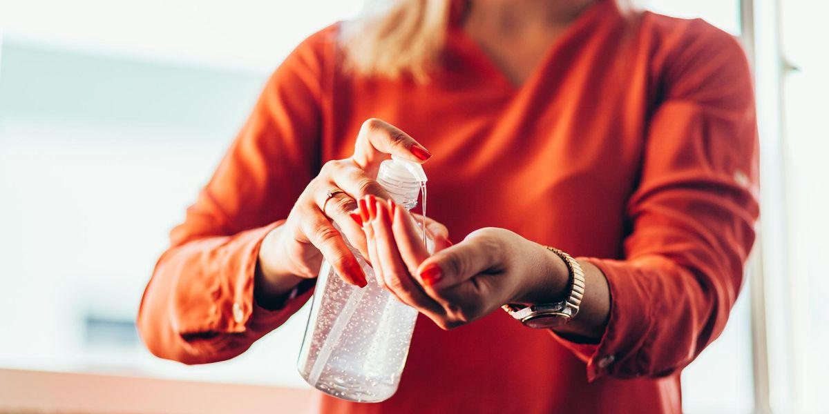 disinfettante covid dermatite
