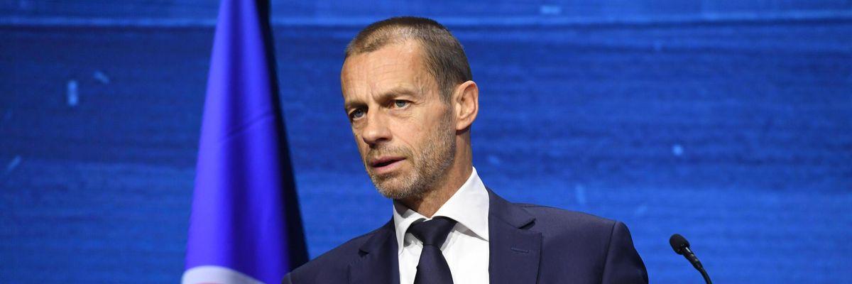 ceferin uefa superlega tribunale madrid corte giustizia europea causa
