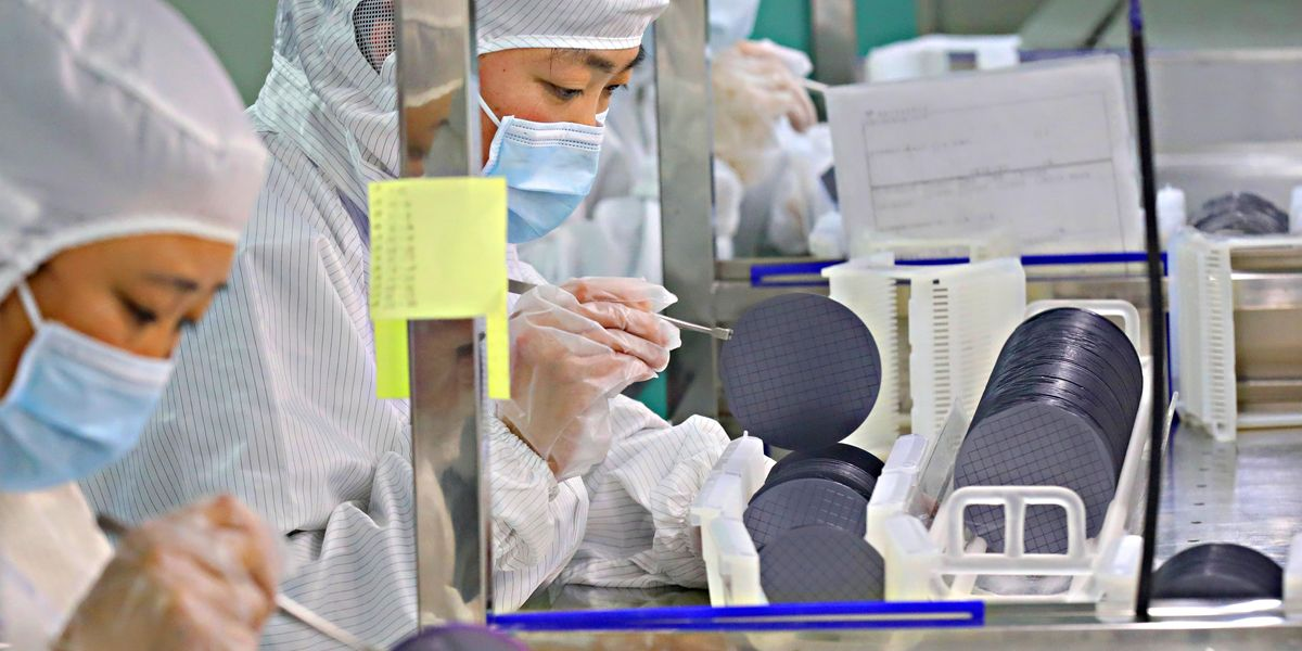 produzione microchip