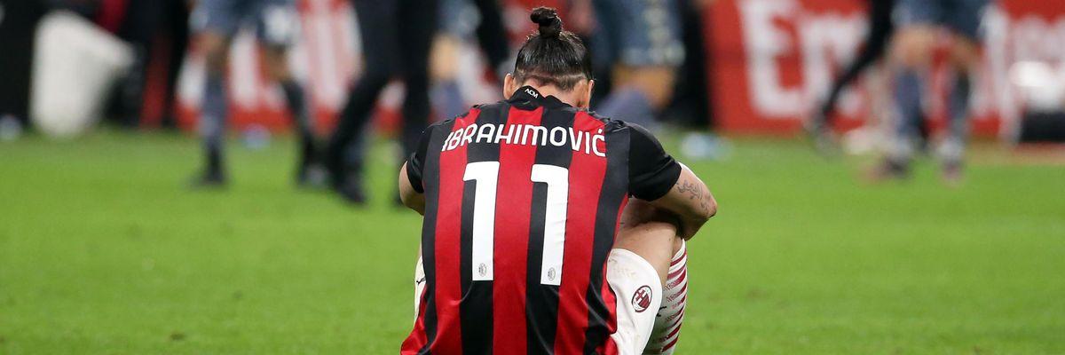 zlatano ibrahimovic salta europeo euro 2020 svezia infortunio ginocchio milan