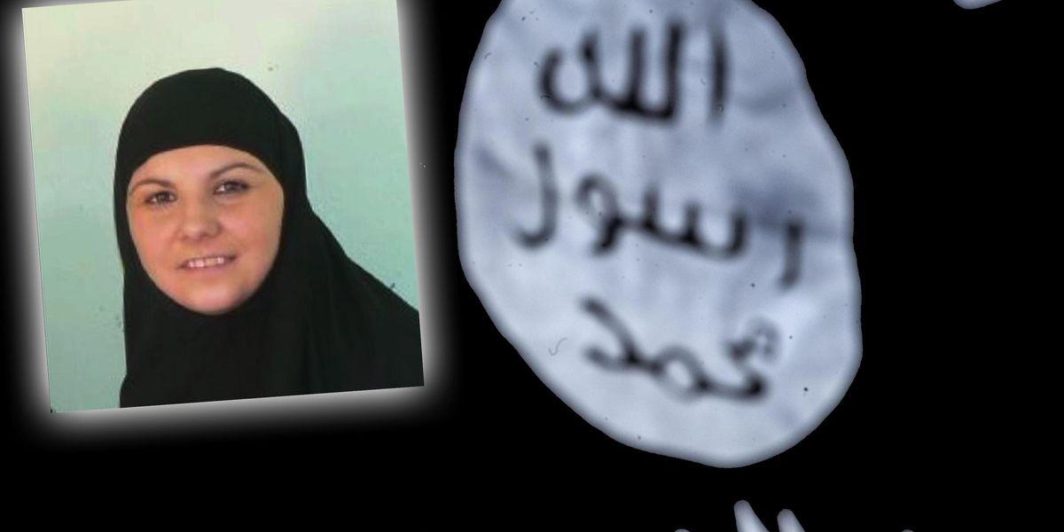 Alice 'Aisha' Brignoli moglie di Mohamed Koraichi, nato in Marocco